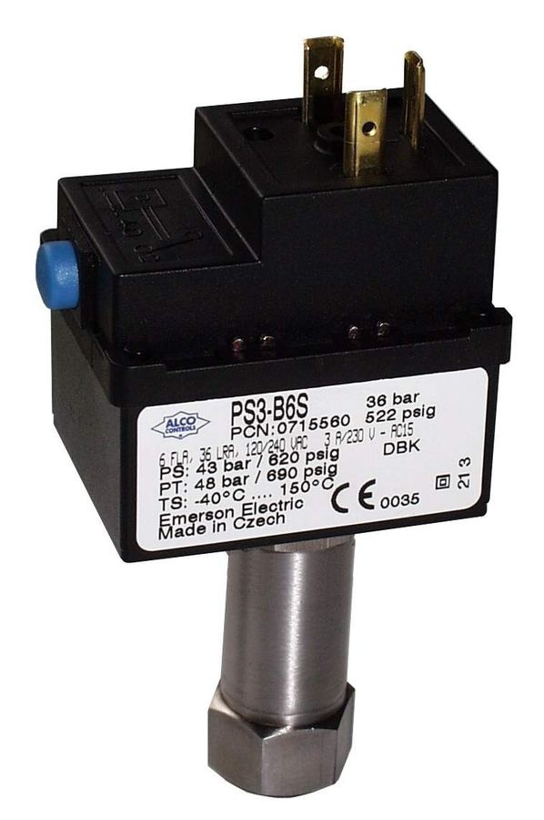NEW: mechanical pressure switch by Emerson Climate