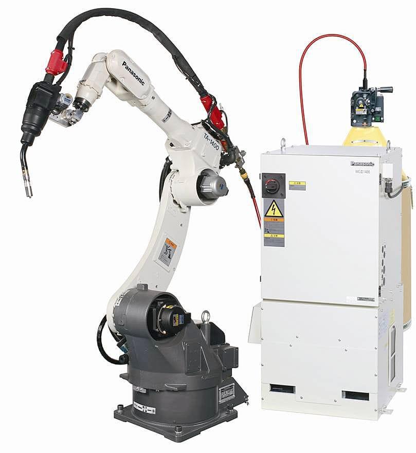 New Tawers Aluminium Mig Welding Robot System Panasonic Robot Welding System Solutions
