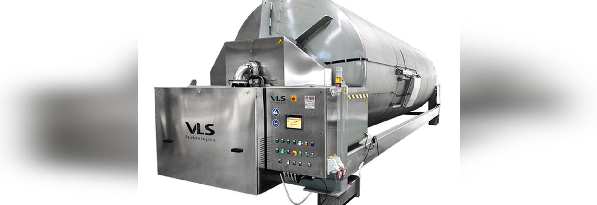 A 440hl pneumatic press by VLS Technologies has been delivered in Hungary