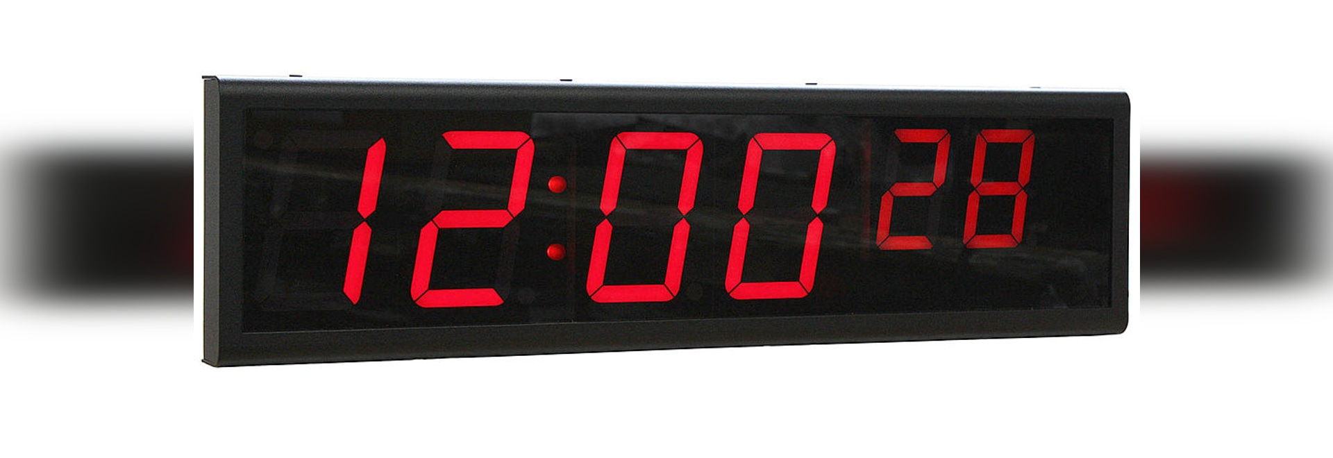6 Digit, Digital Signal Clock Improves Business Performance