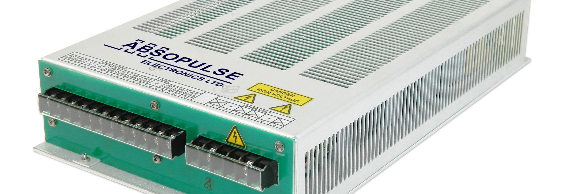 600Vdc (450V to 800V) input, 400VA Industrial DC-AC Sine Wave Inverters