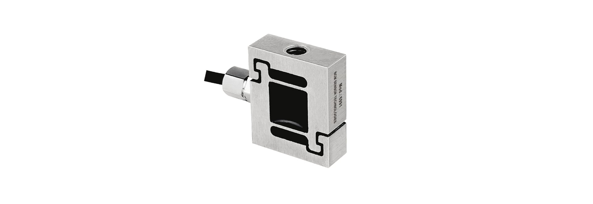 6991 Compact S-Type Force Transducers with Overload-Protection