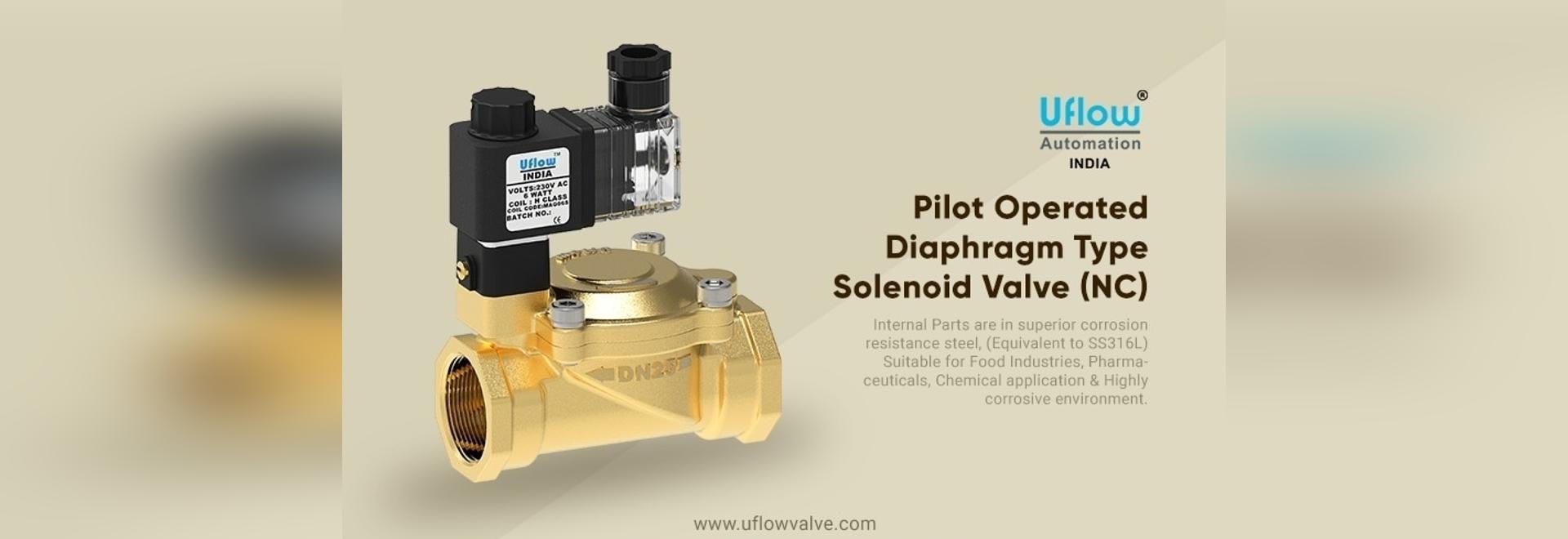 air, water, gas solenoid valve