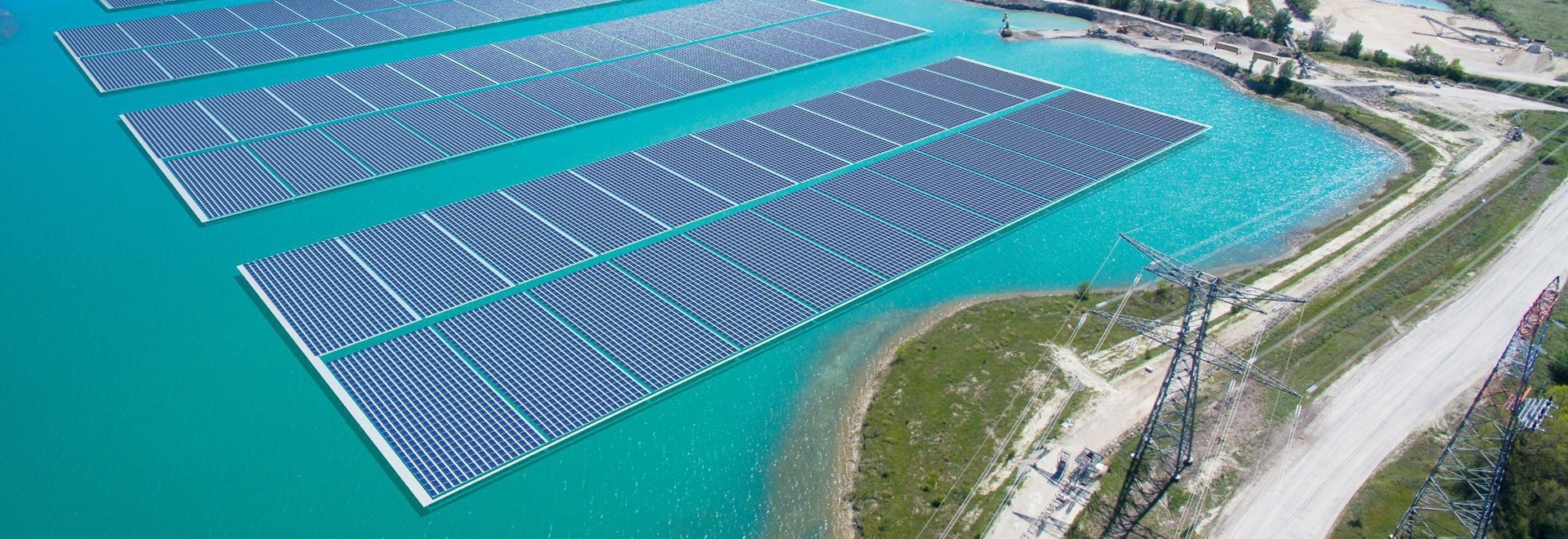 Akuo Energy launches the construction of a 17 MW floating solar plant in France