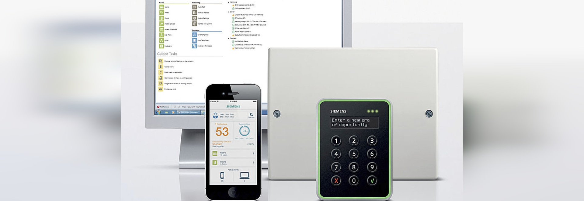 Aliro offers web-based access control for small and medium-sized businesses