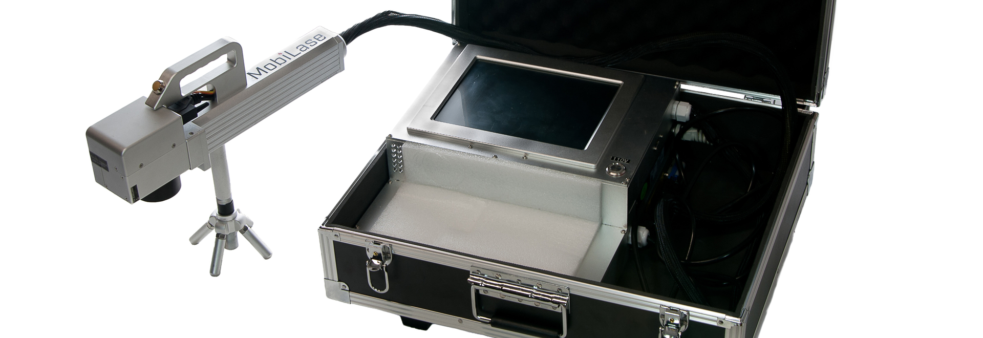 The All-In-One Industrial Fiber Laser Marking Unit in a Suitcase