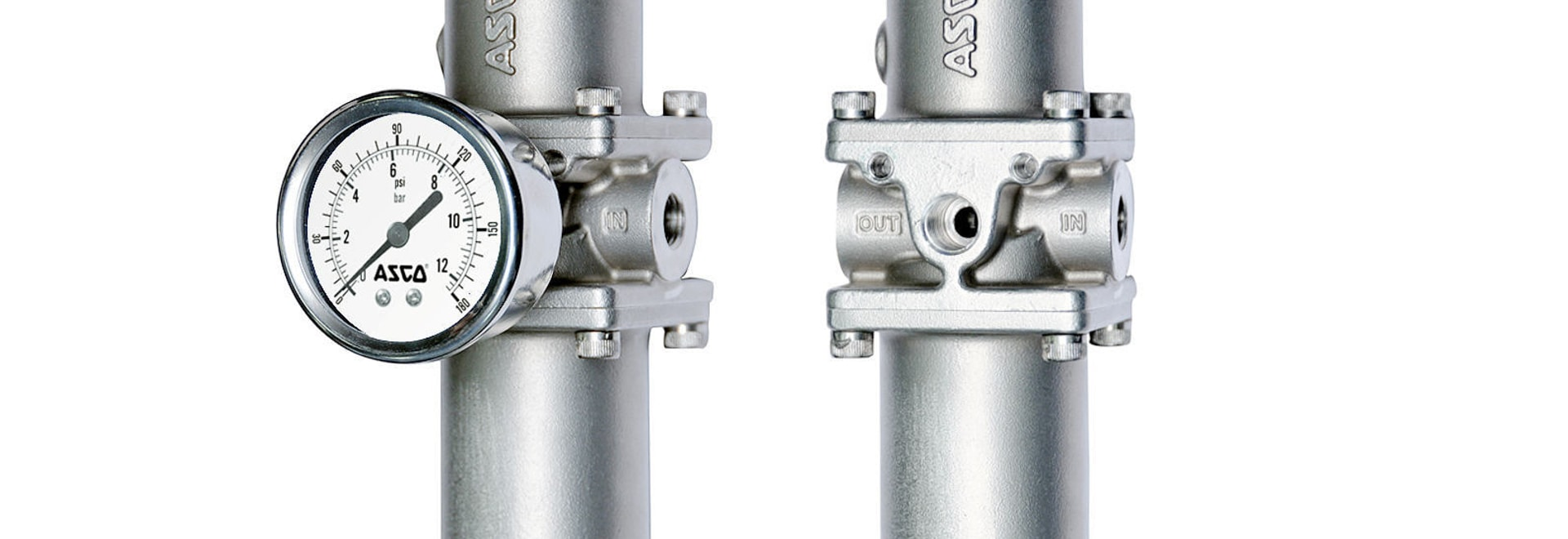 ASCO expand Stainless Steel Filter Regulator range with addition of a compact offering