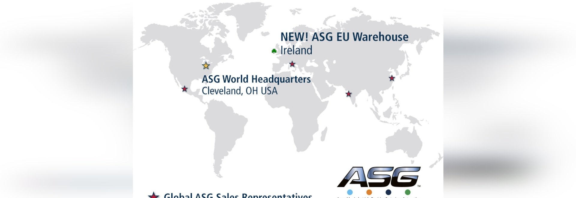 ASG assembly tool warehouse location in Europe