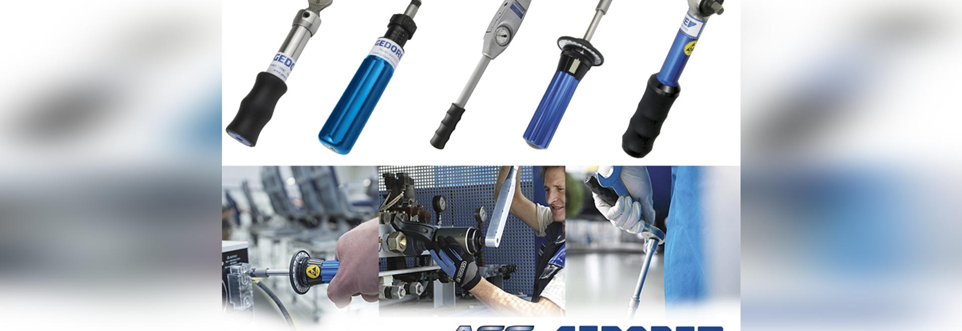 ASG and Gedore Manual Torque Tools