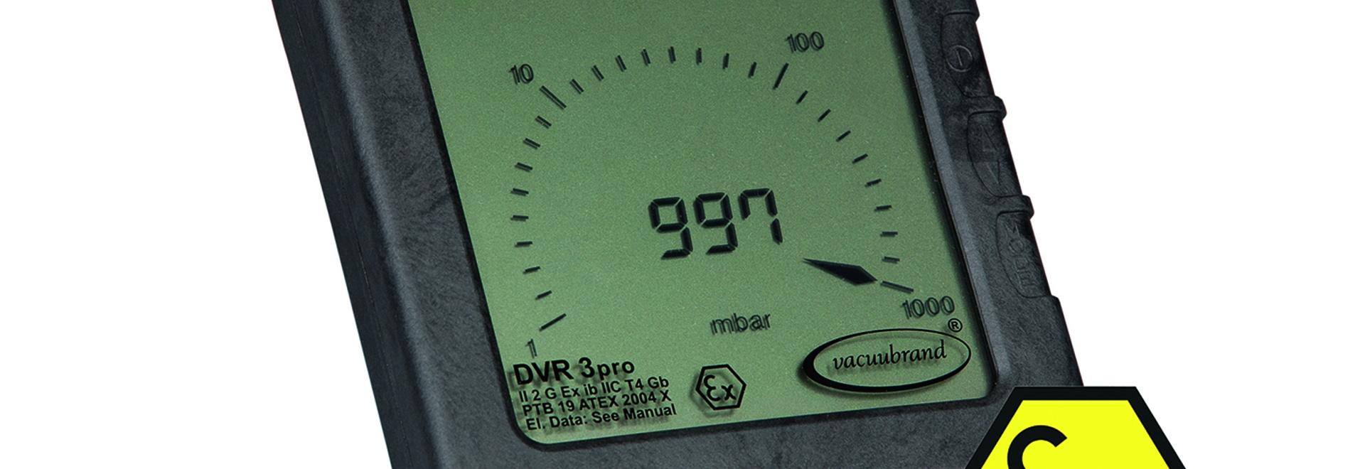 ATEX-compliant measuring device DVR 3pro