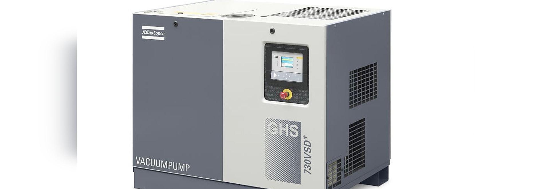 Atlas Copco to launch super-efficient VSD vacuum pump range