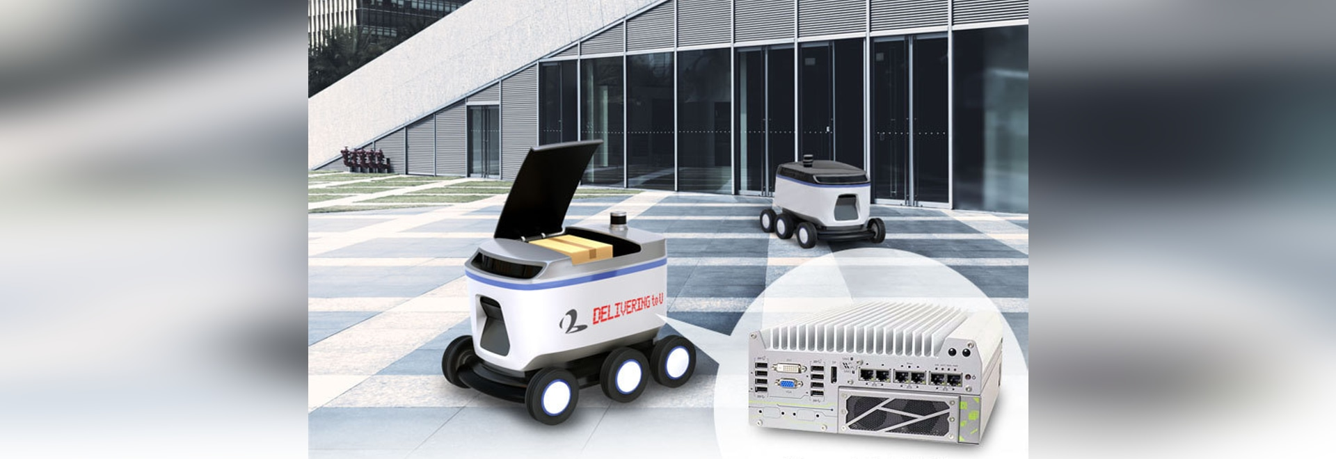 Automated Last-mile Delivery Made Possible with Neousys' Edge AI Platforms