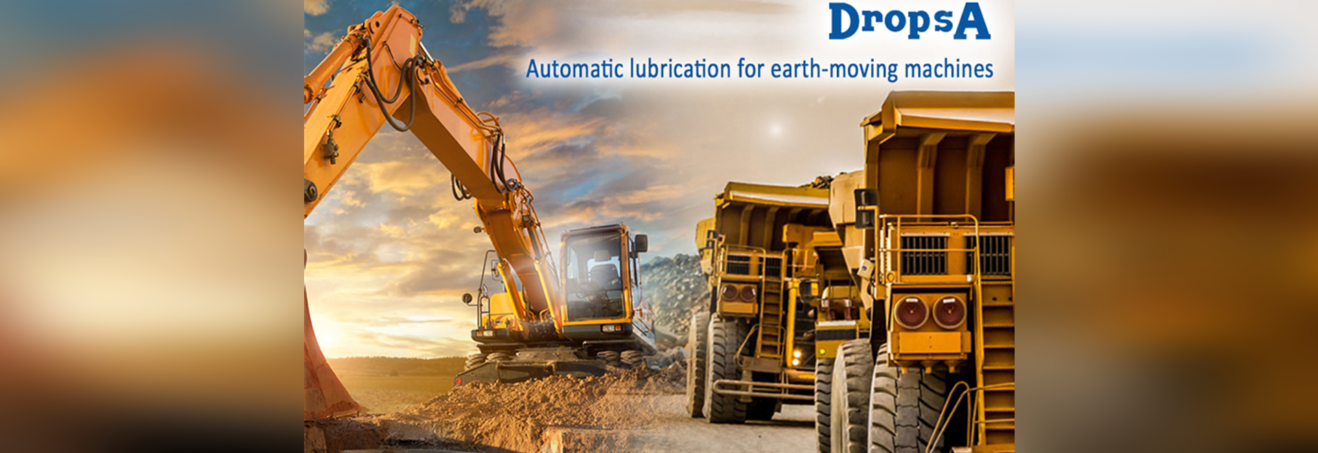 Automatic lubrication for earth-moving machines
