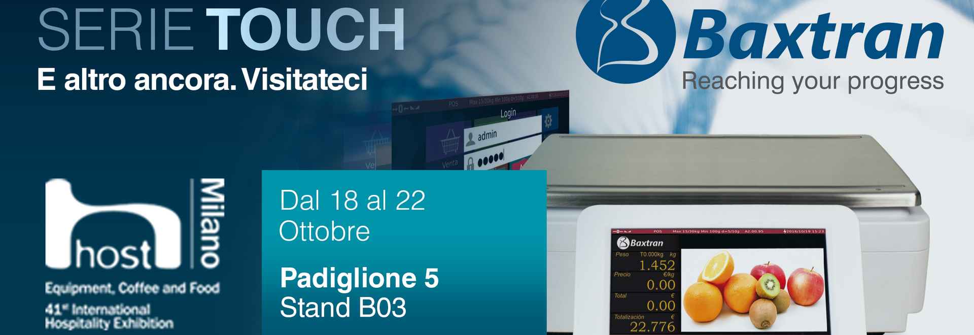 Baxtran will be at the HOST in Milan