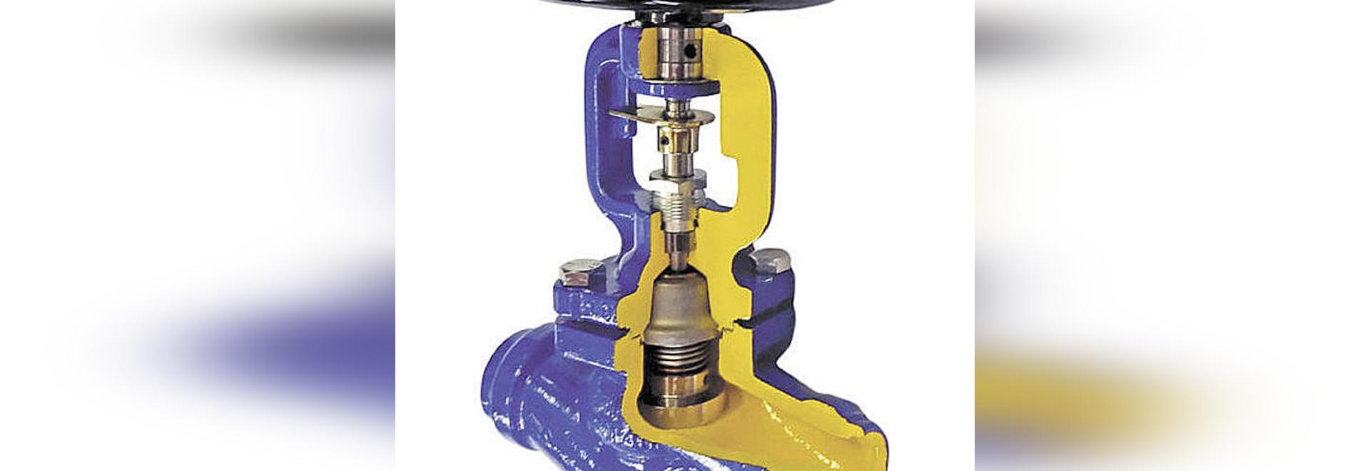 Bellow sealed stop valves zBEL