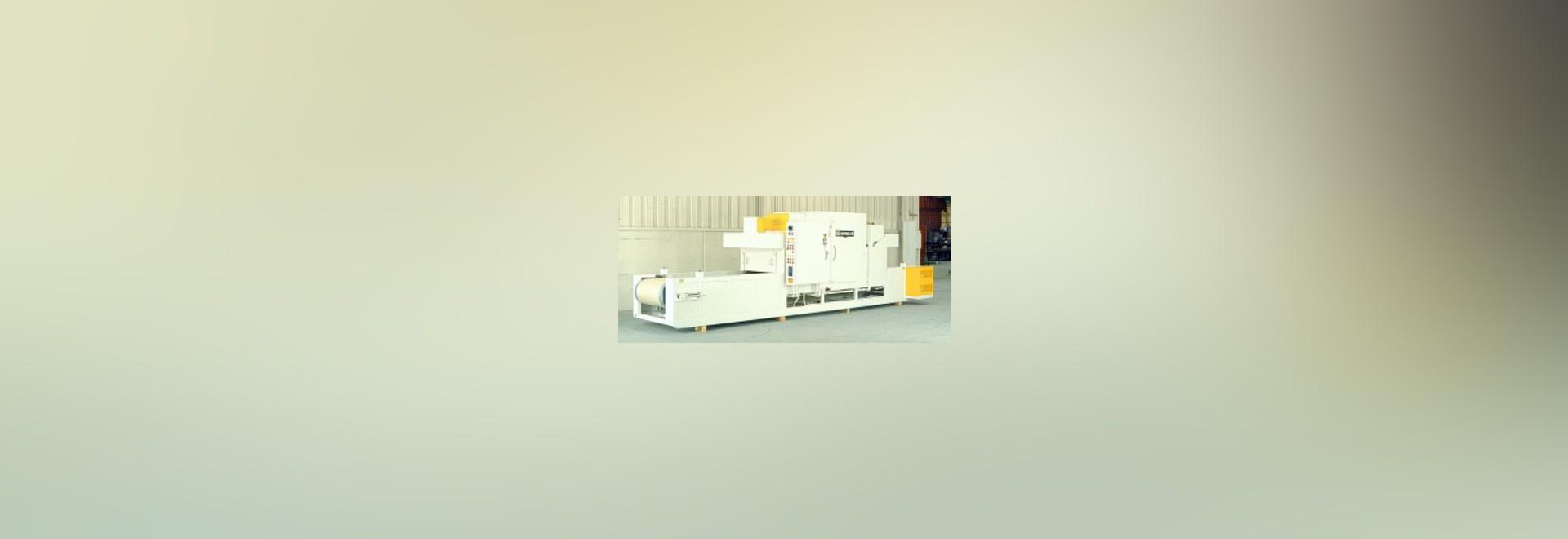 Belt conveyor preheating oven