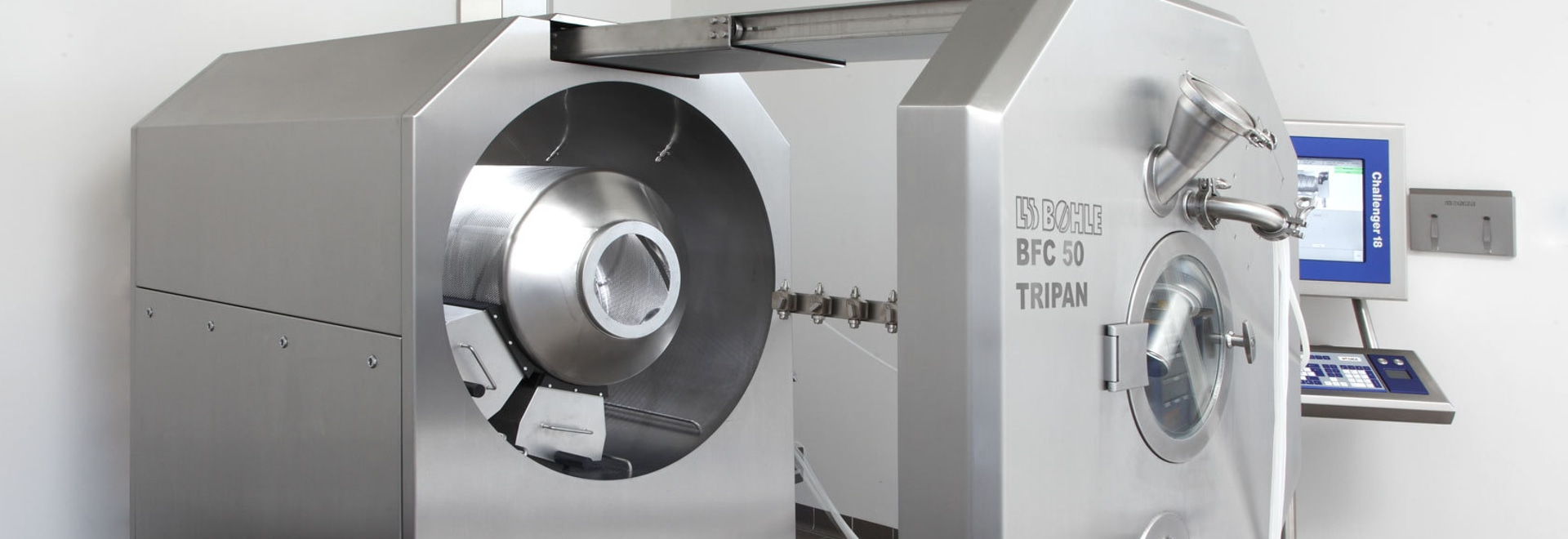BFC TriPan coater