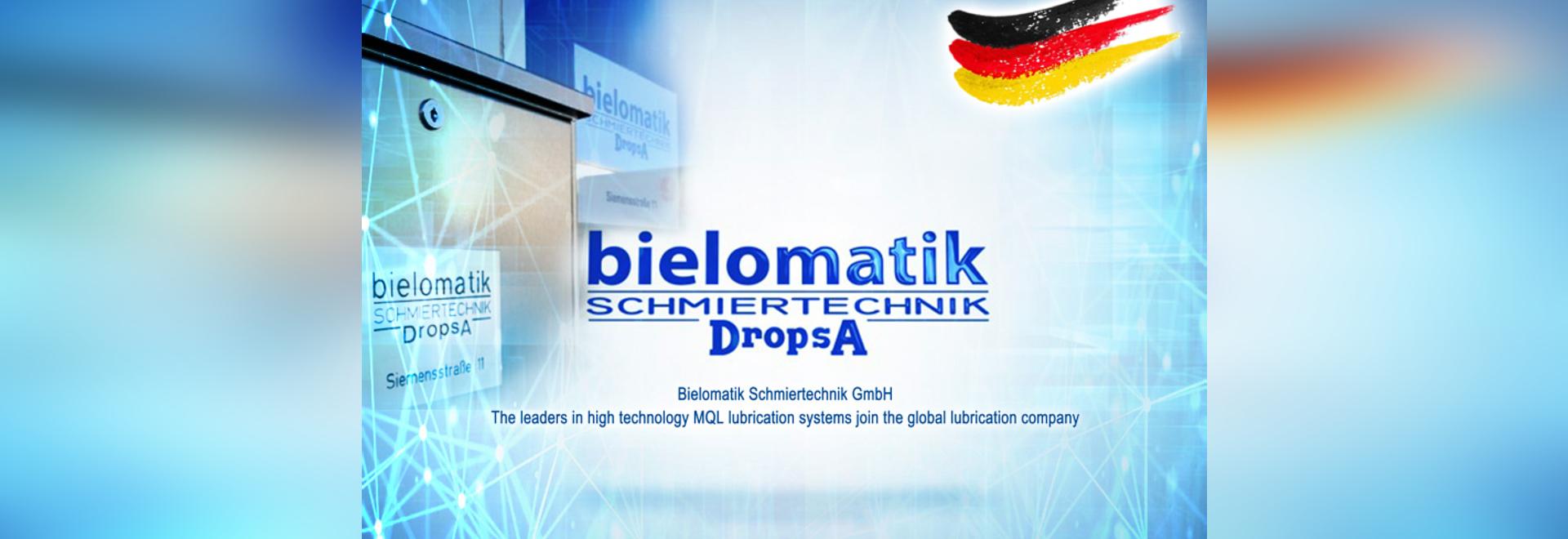 Bielomatik Schmiertechnik GmbH joins DropsA