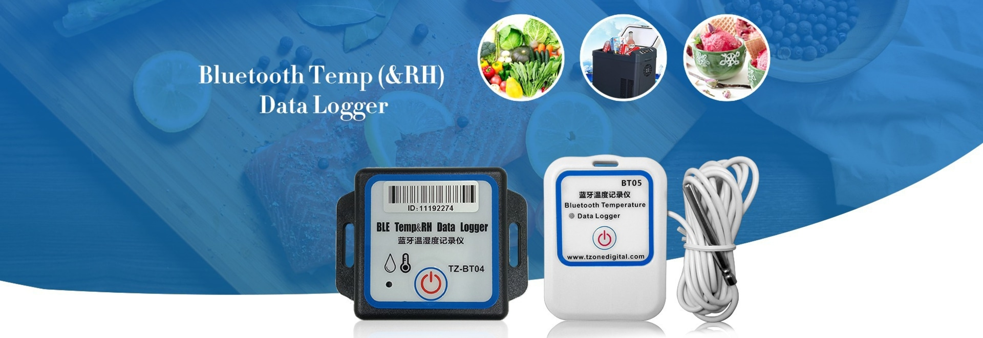 Bluetooth temperature and humidity data loggers make it easy for cold chain management