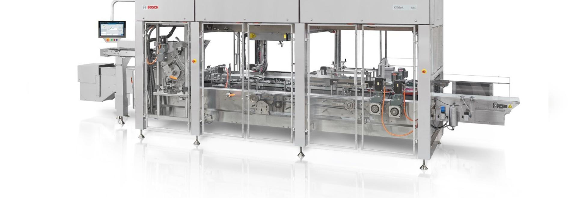Bosch Packaging: Bag-in-box handling system