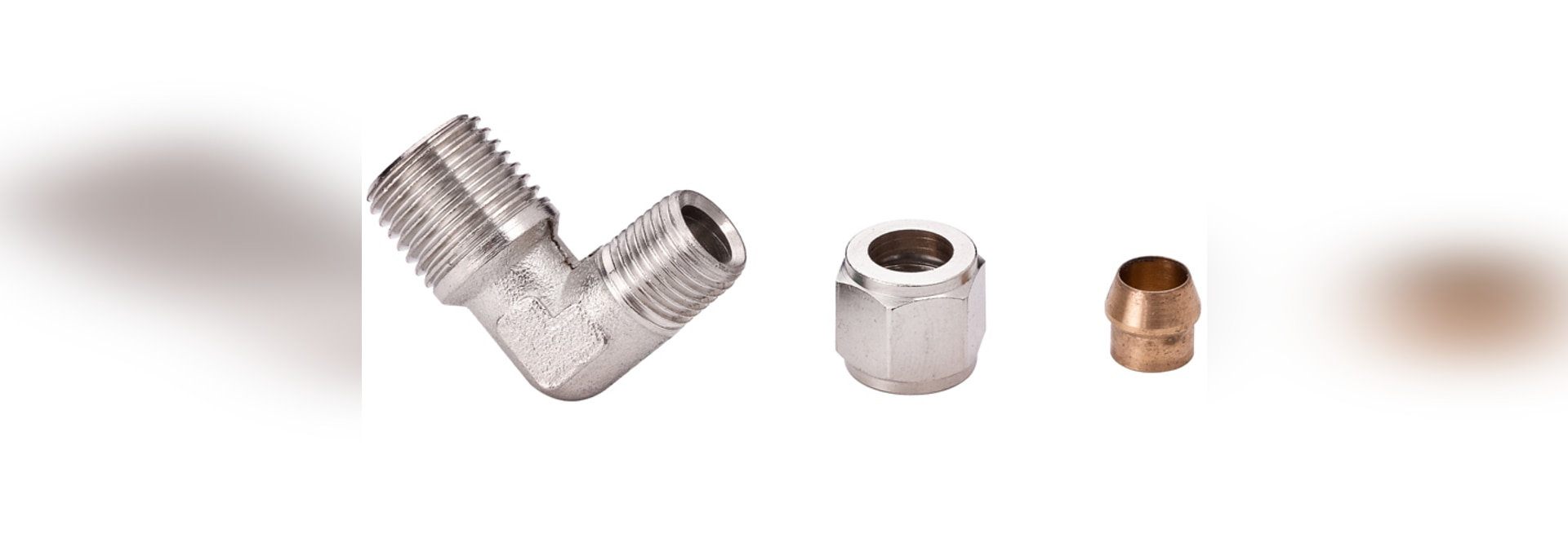 Brass Compression Fittings - BCPL Male Stud Elbow