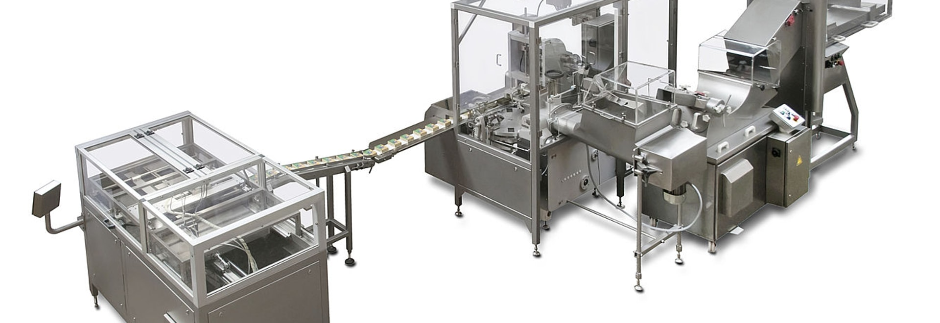 Butter re-packing line