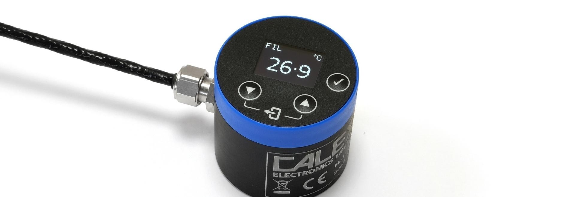 Calex PyroSigma infrared temperature sensor with built-in display