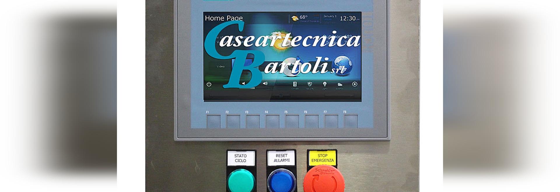 Caseartecnica Bartoli and the new Widescreen control panels.