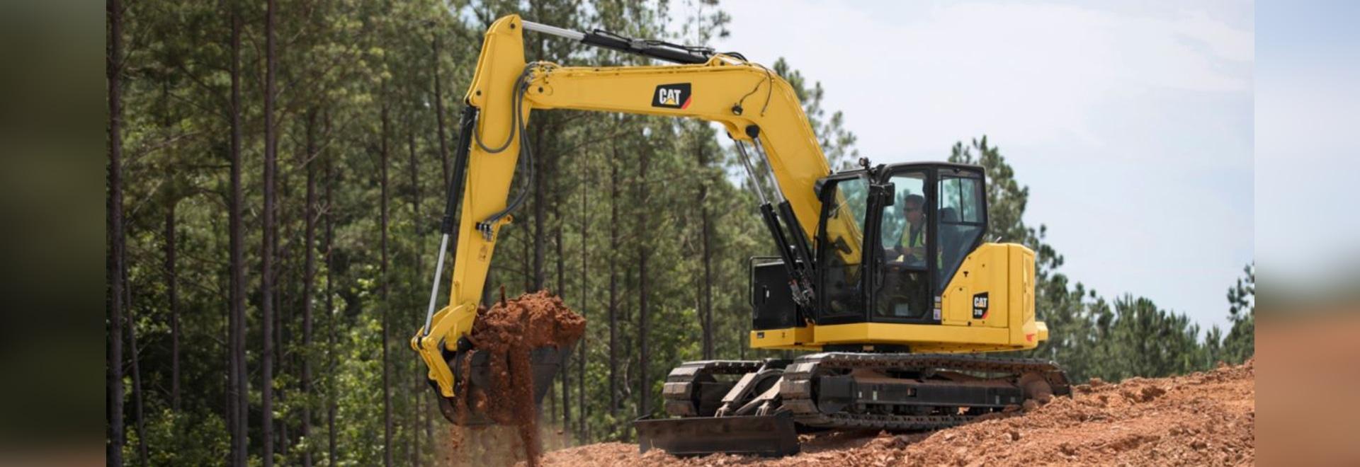 Caterpillar Next Generation 7- to 10-ton Excavators