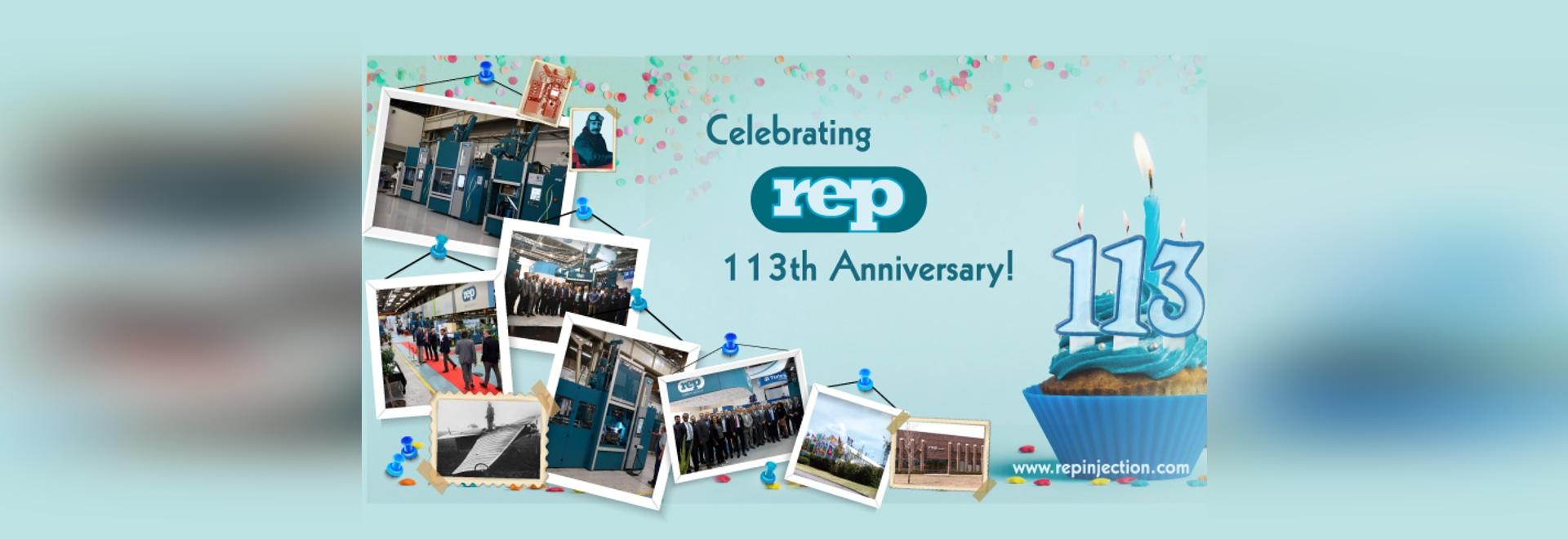 Celebrating REP 113th Anniversary!