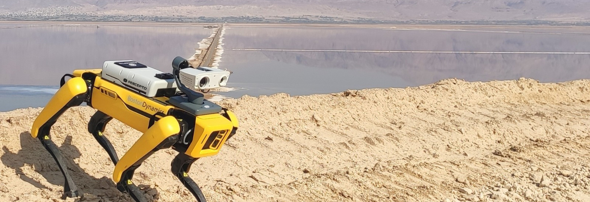Combining Percepto's Sparrow drone with Spot creates a unique solution for remote inspection.