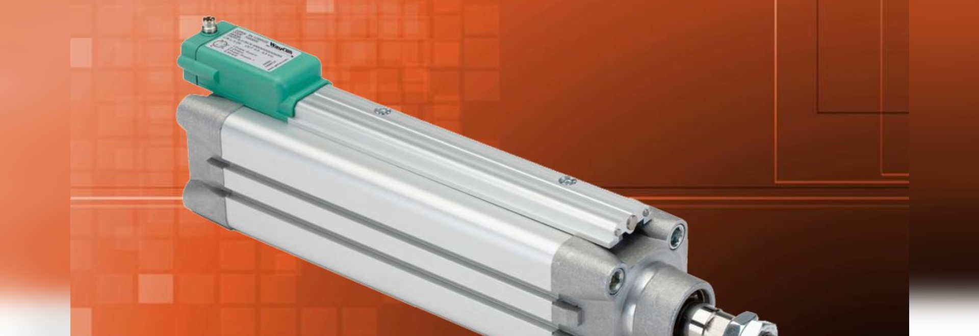 Compact and wear-free – The MOP magnetostrictive position sensor
