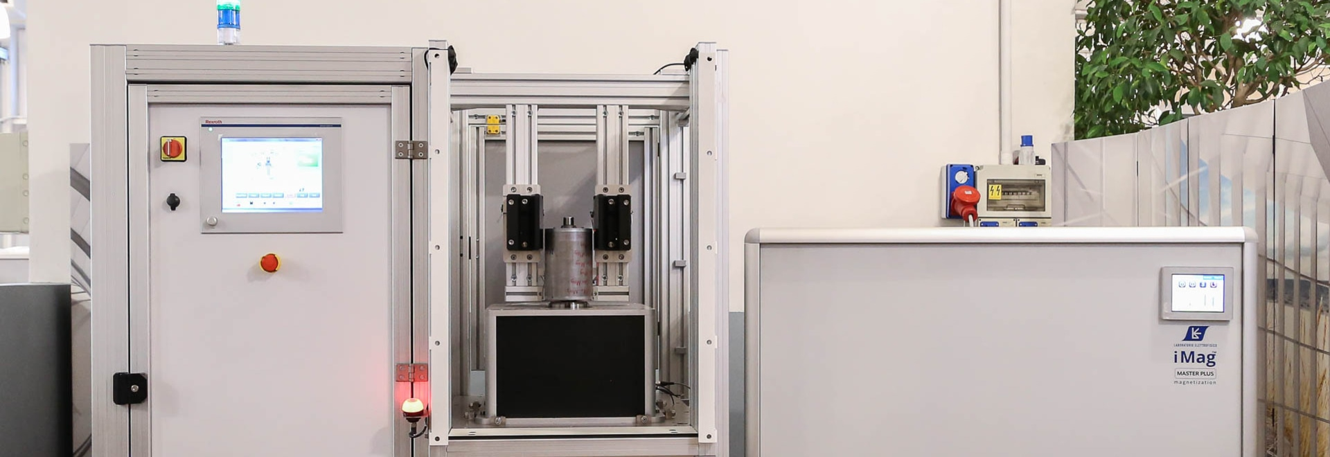 Custom magnetizing system for automotive applications