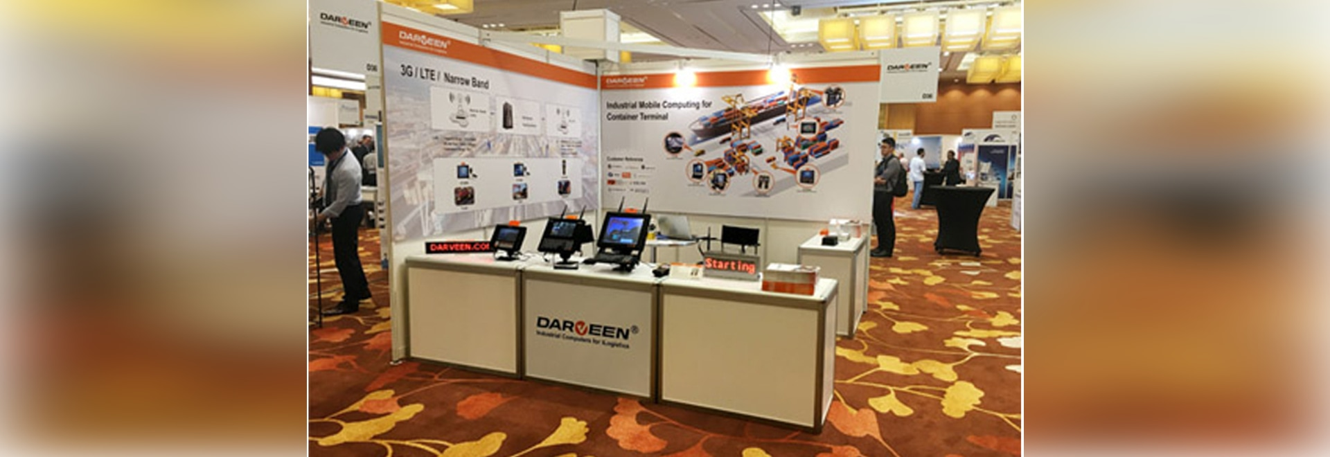 Darveen Attended Exhibition in Singapore 2017