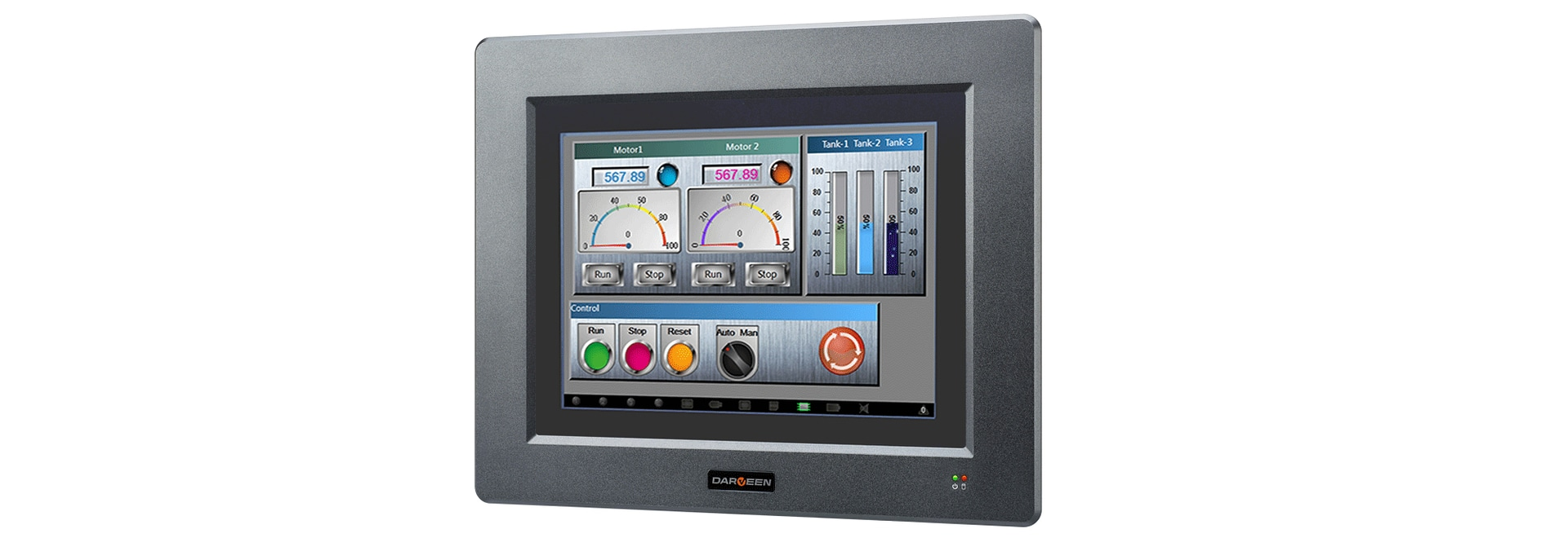 Darveen launched a new industrial-grade HMI computer DPC-3000 Series