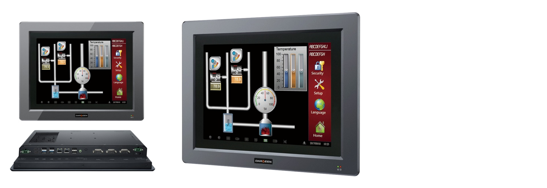 Darveen launched a new industrial-grade HMI computer DPC-5000 Series