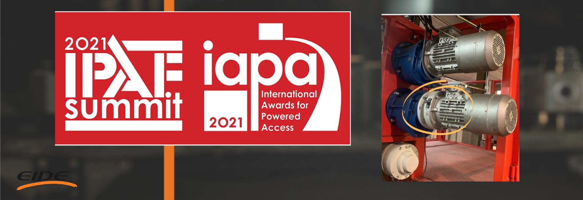 DBQ CENTRIFUGAL BRAKE NOMINATED IN THE IAPA AWARDS 2021