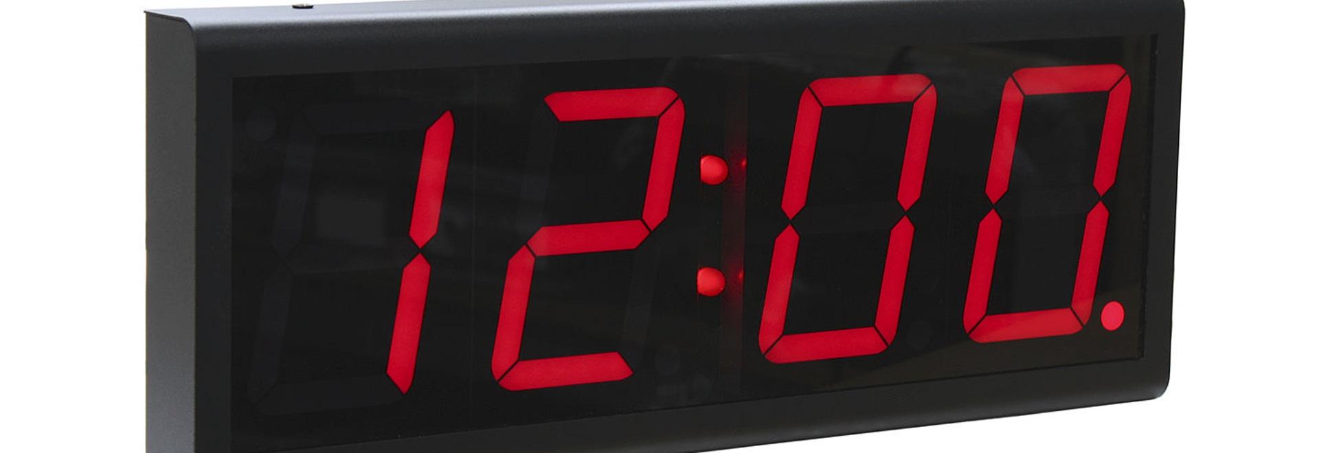 Digital Signal Clock Improves Business Efficiency