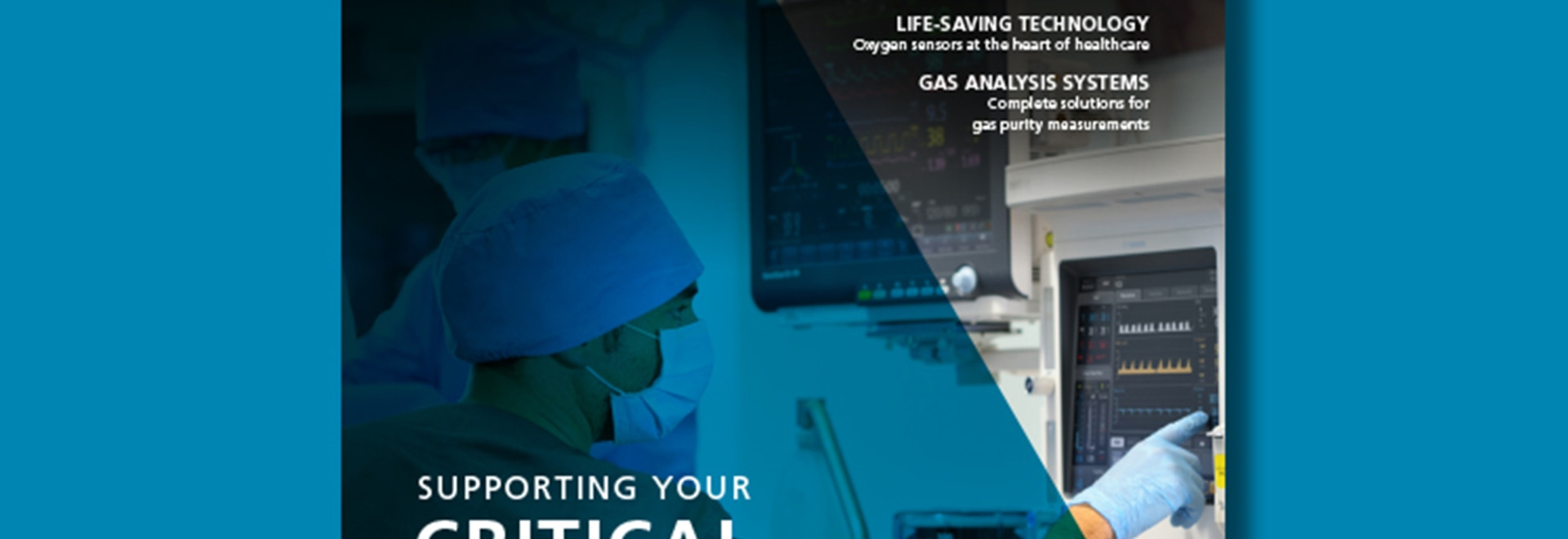 Discover our support for critical medical care with the latest Expert Solutions magazine