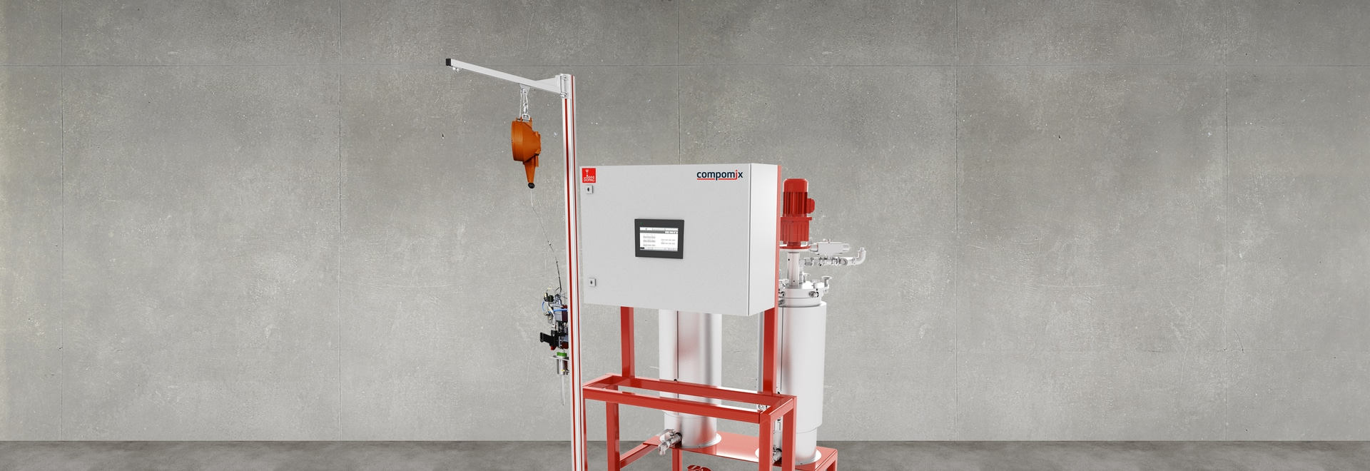 Dosing system compomix FI
