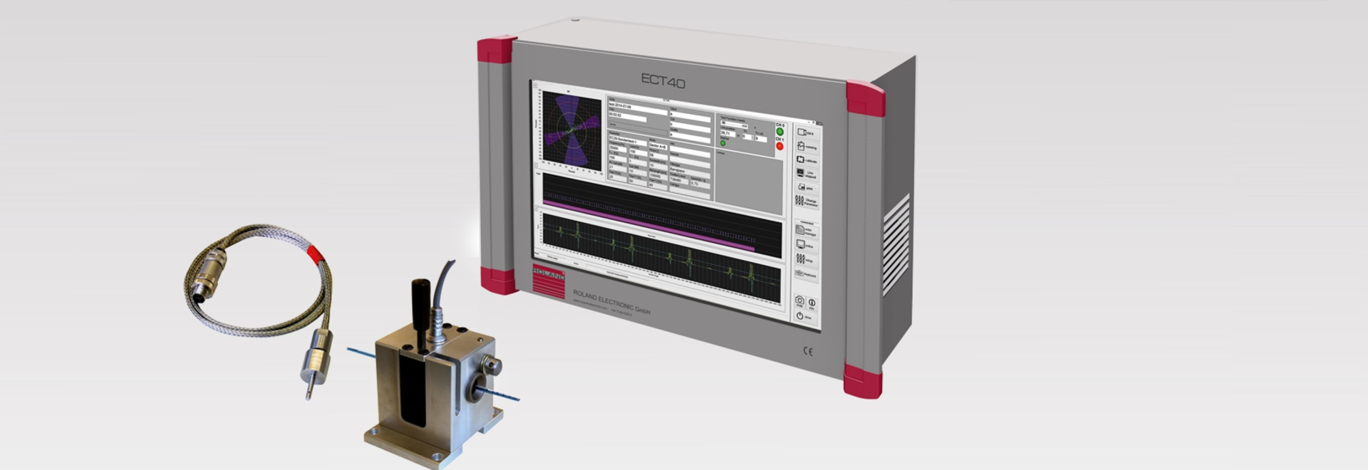 ECT40 - Eddy Current Fault Inspection System