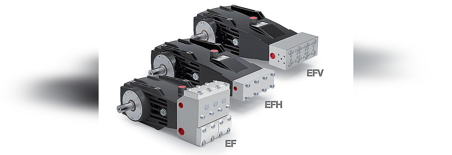EF Series - HPP New High Pressure Plunger Pumps