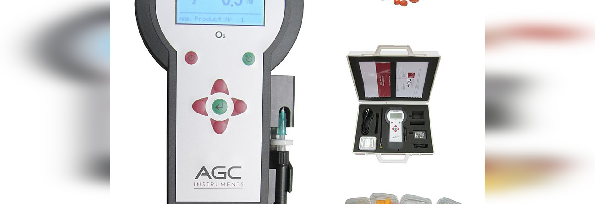 Effortlessly pass your audits with the new ergonomic Map-Pak food packaging gas analyser
