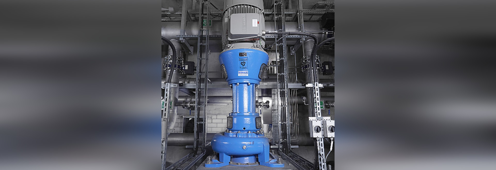 Egger Pumps for Rolling Mill in Germany