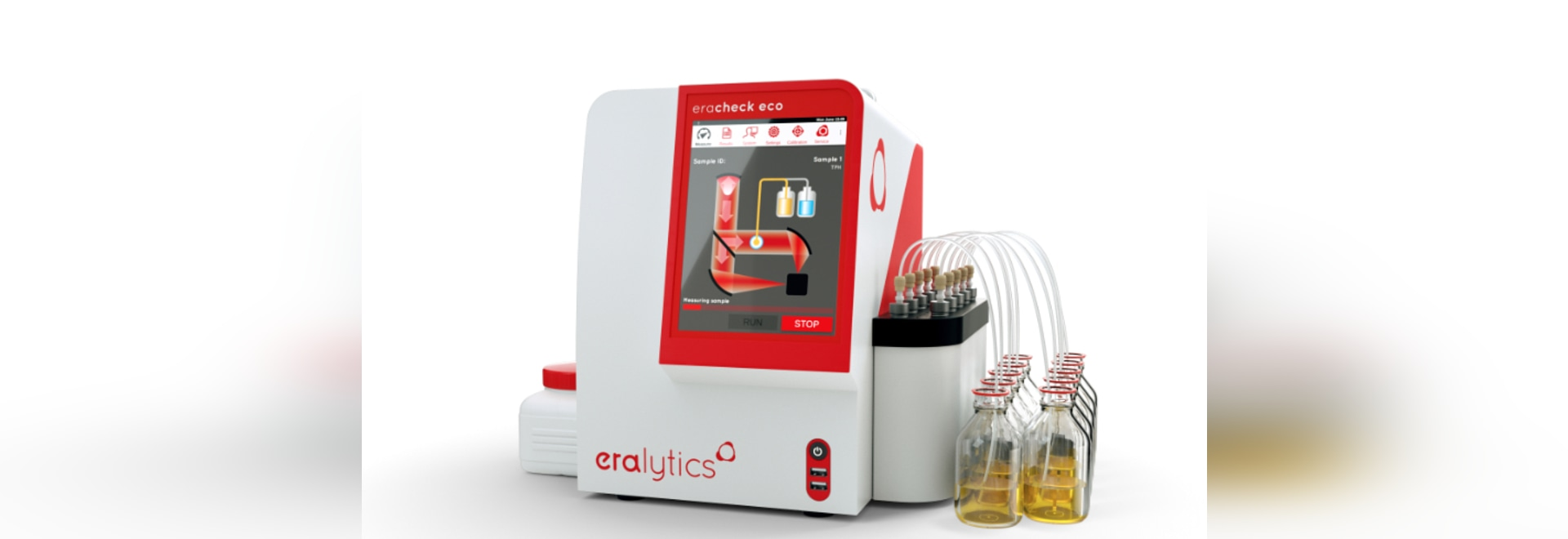 ERACHECK ECO CFC-free oil-in-water testing