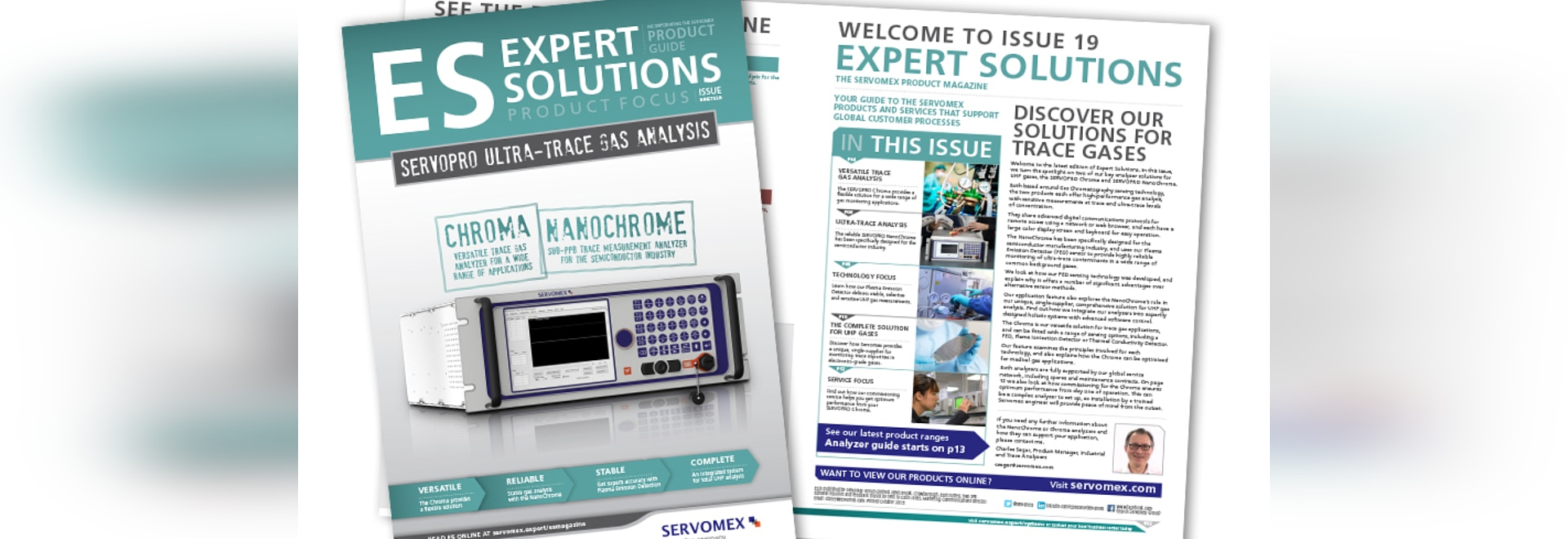 EXPERT SOLUTIONS ISSUE 19 TURNS SPOTLIGHT ON UHP GAS ANALYZERS