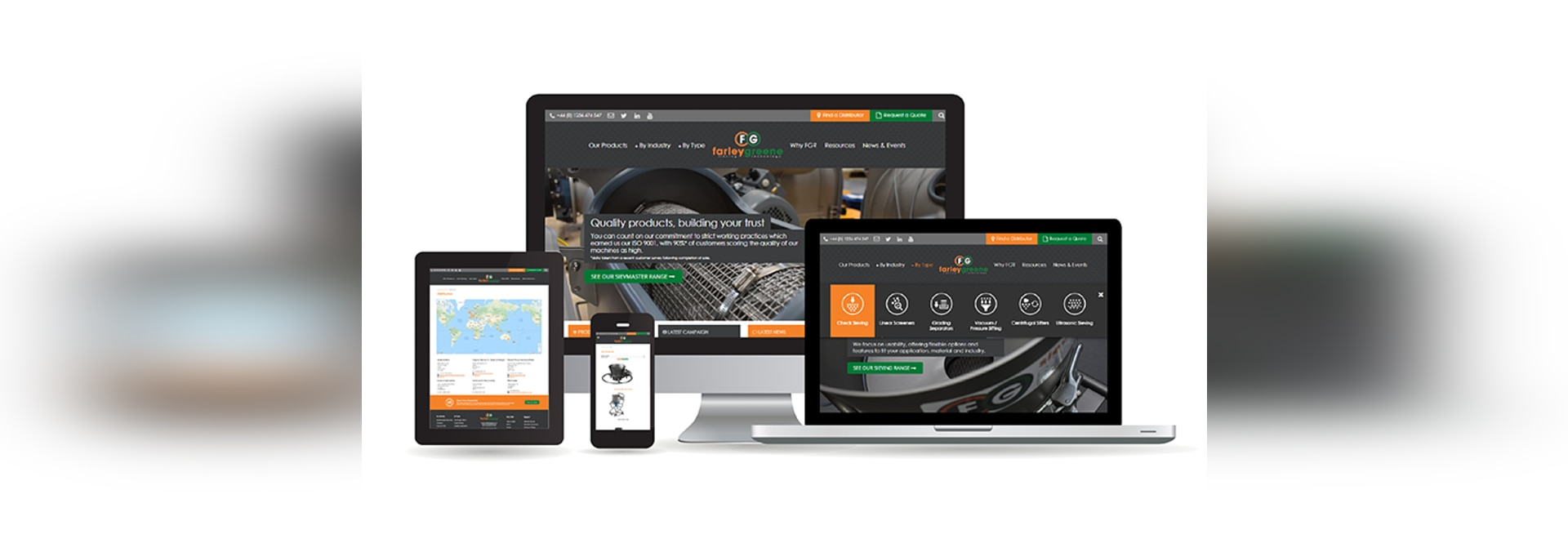 Farleygreene Launches New Website