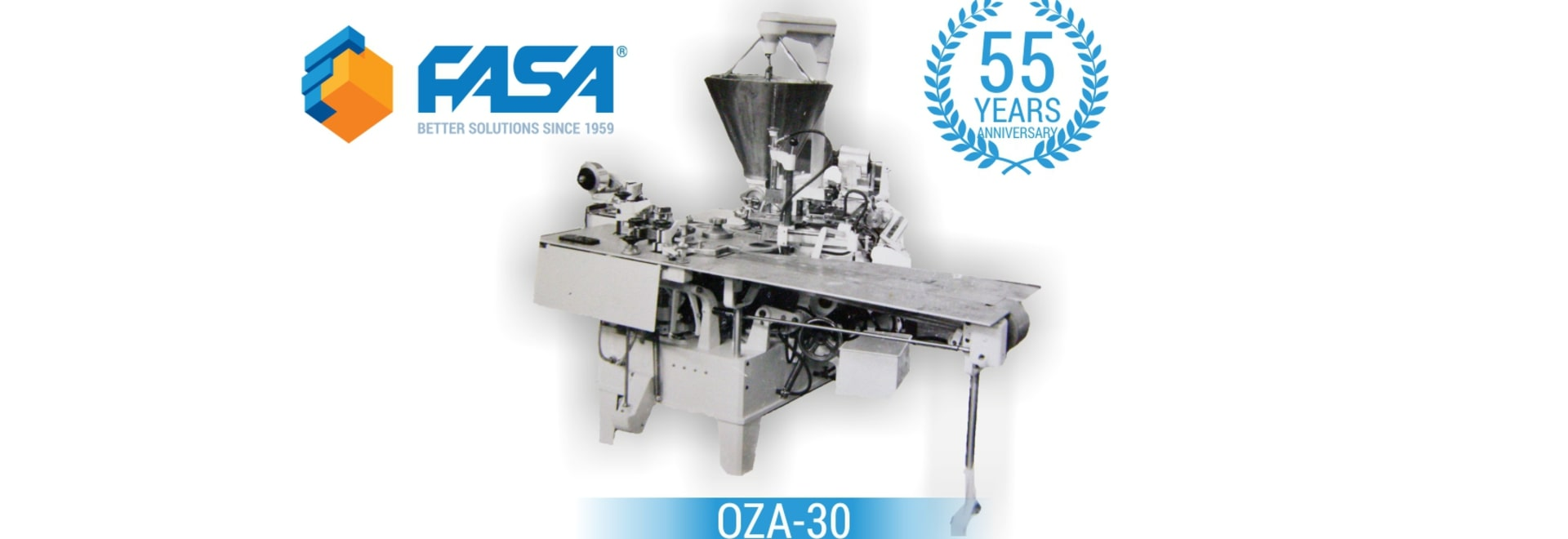 FASA celebrates 55 years of the first machine!