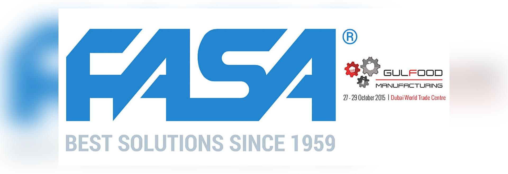 FASA Stand At Gulfood Manufacturing 2015