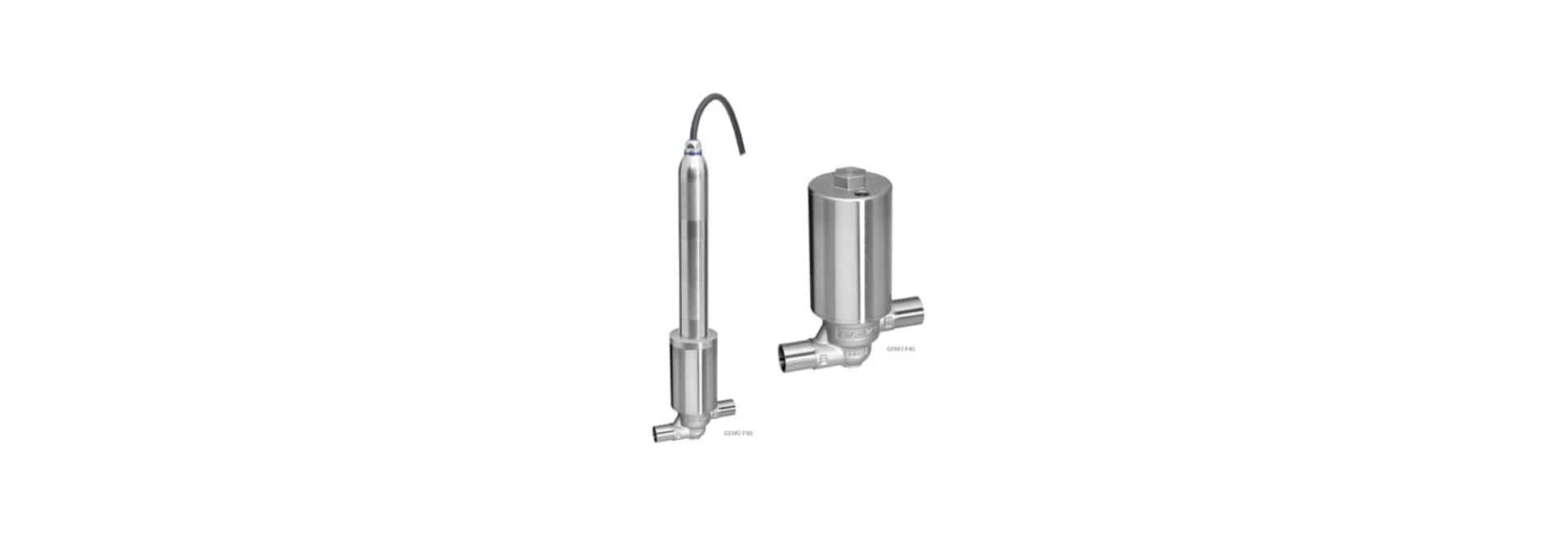 Filling valves GEMÜ F40 F60